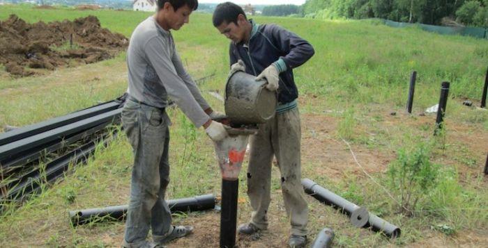 Нужно ли бетонировать винтовые сваи