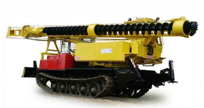 Бурильно сваебойная машина БМ 831