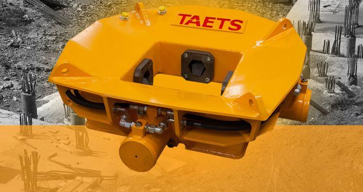 Оборудование Taets для обрезки свай