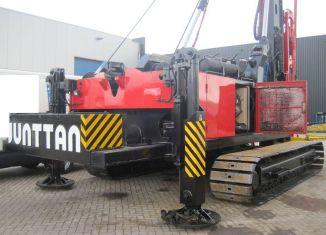 сваебойная установка Janttan PM 25LC