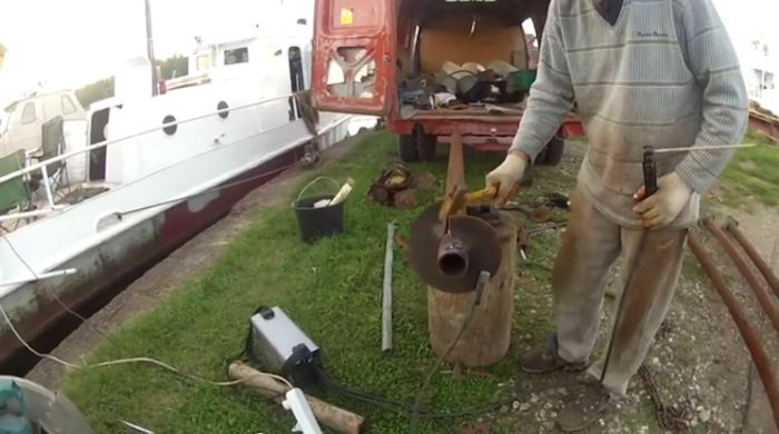 самостоятельное изготовление винтовых свай