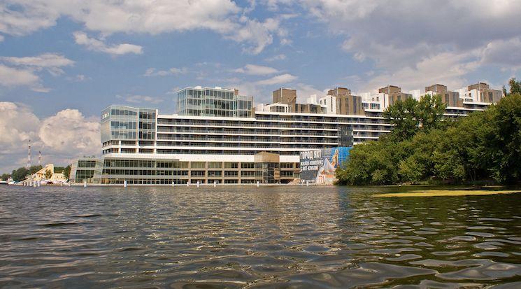 Город яхт в Москве